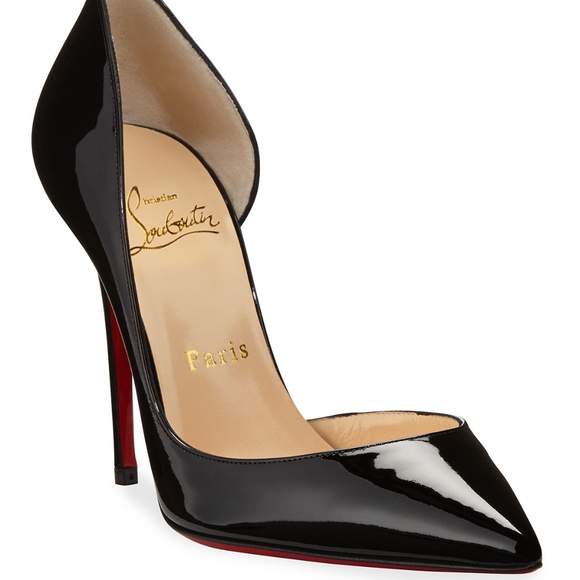 release date: af750 167b1 Christian Louboutin Iriza 100 Patent Leather Pump